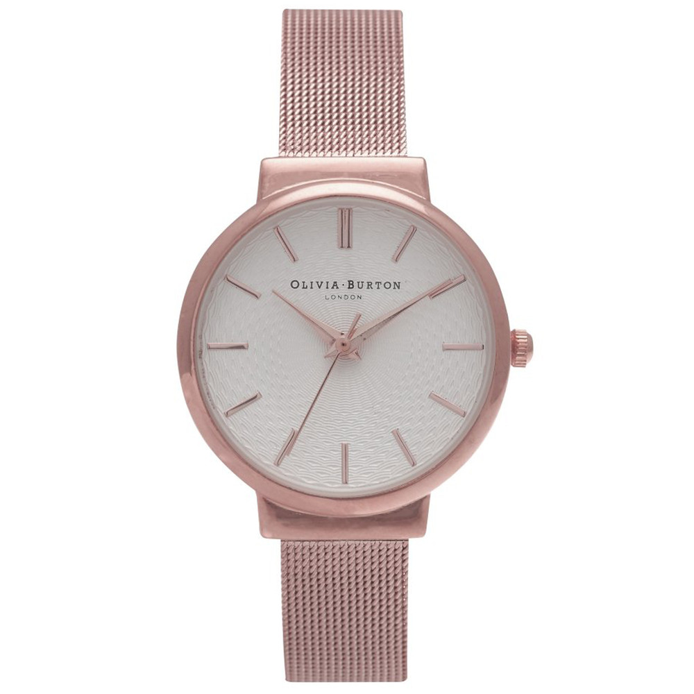 THE HACKNEY MESH WATCH - ROSE GOLD