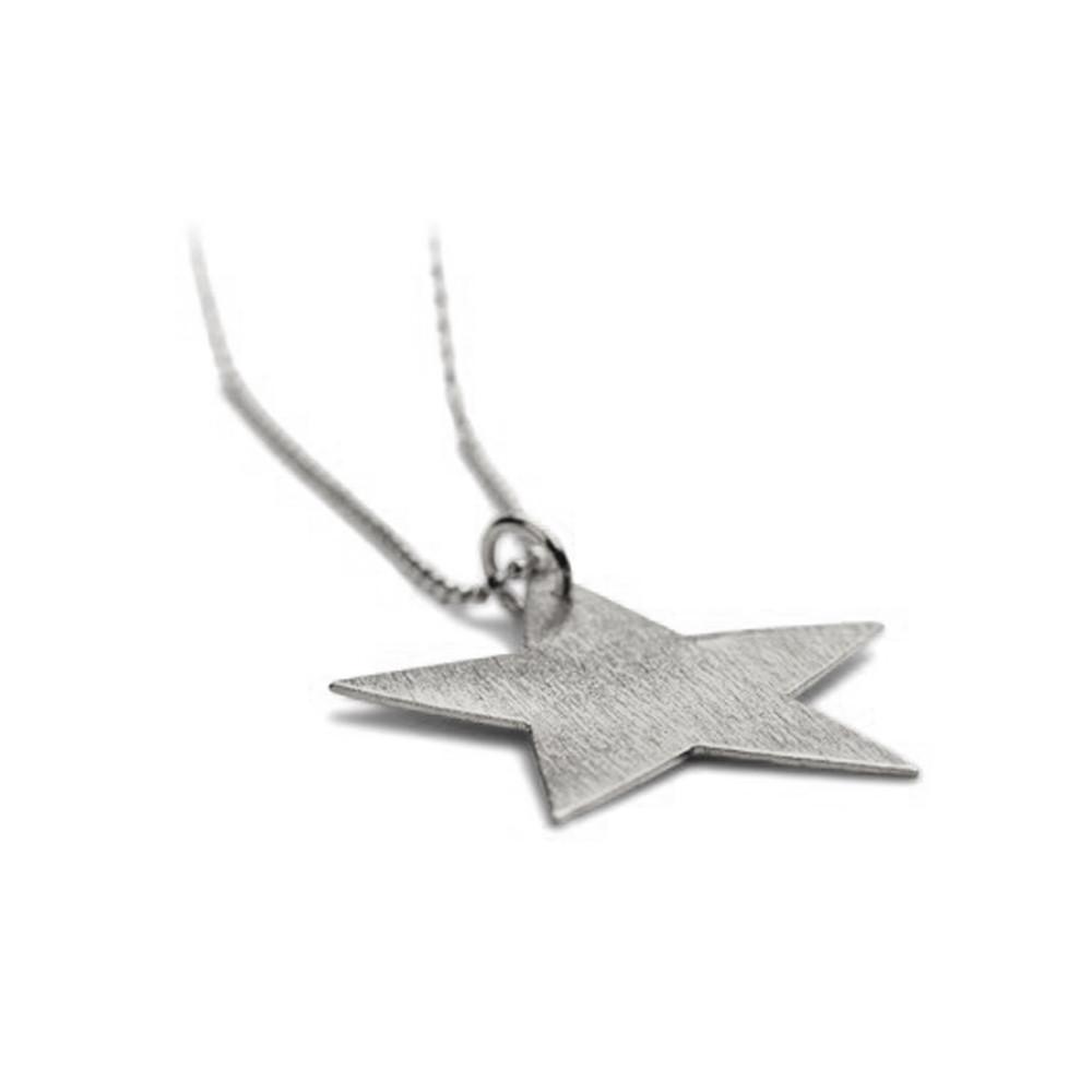 Big Star Necklace - Silver