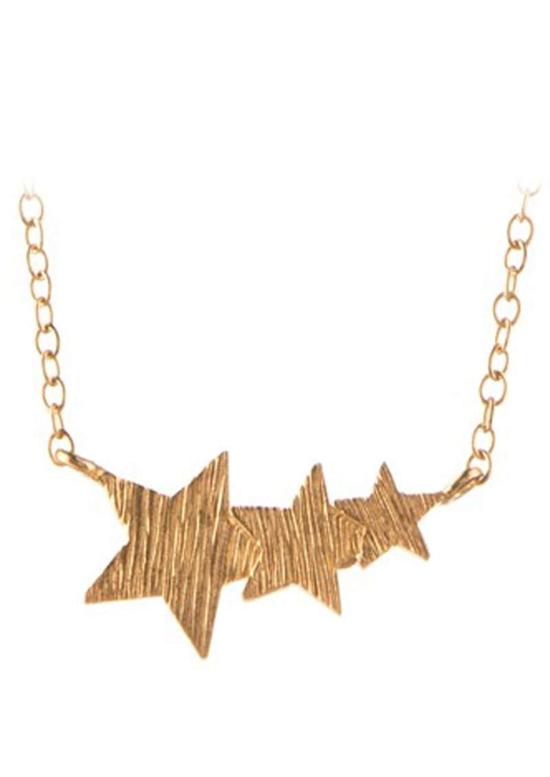 PERNILLE CORYDON SHOOTING STAR NECKLACE - GOLD main image