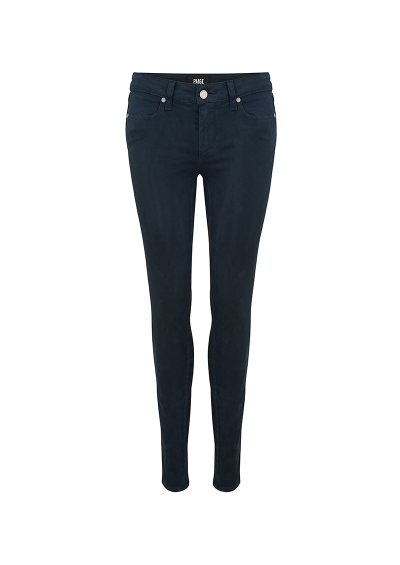 Paige Denim VERDUGO SATEEN ULTRA SKINNY JEANS - MIDNIGHT NAVY main image