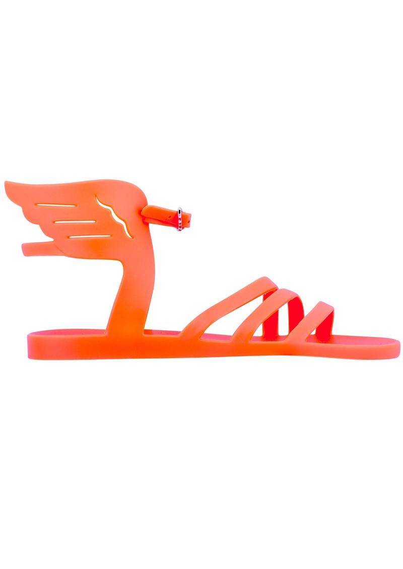 Ancient Greek Sandals IKARIA JELLY SANDAL - FLUO ORANGE main image