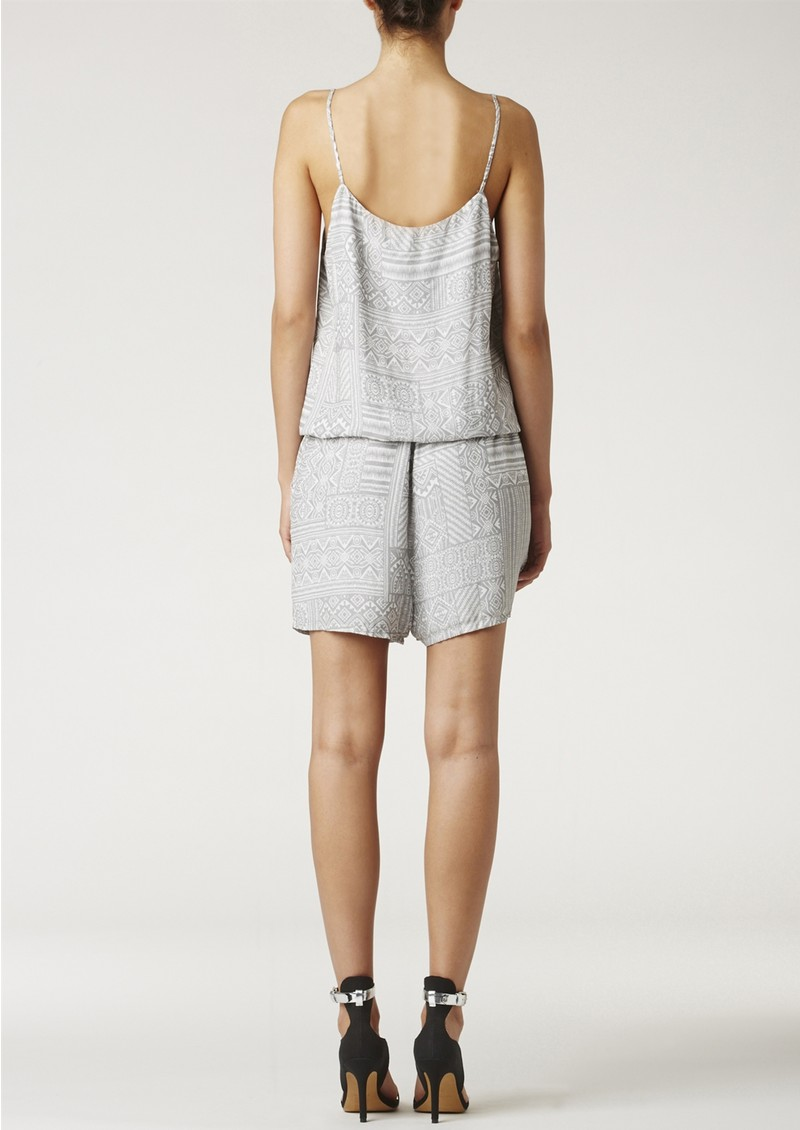 Twist and Tango LEONEL PLAYSUIT - GREY main image