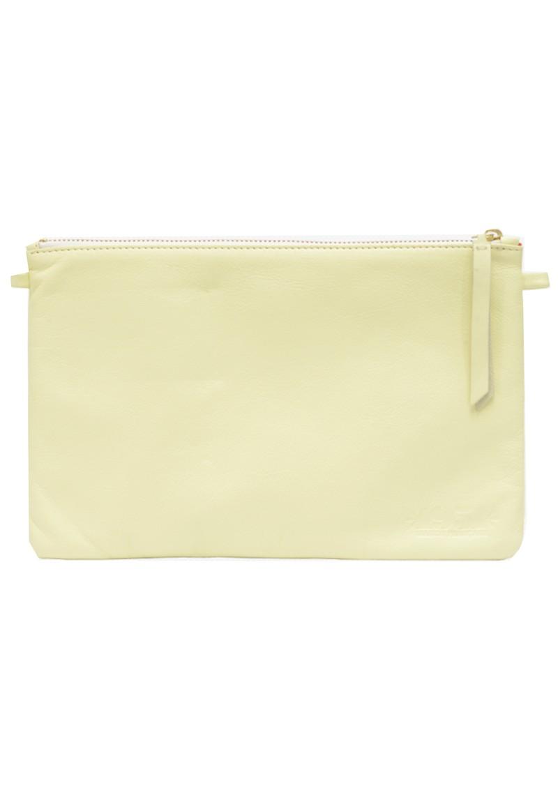 1951 Maison Francaise  Pochette Clutch Bag - Jaune Pastel main image