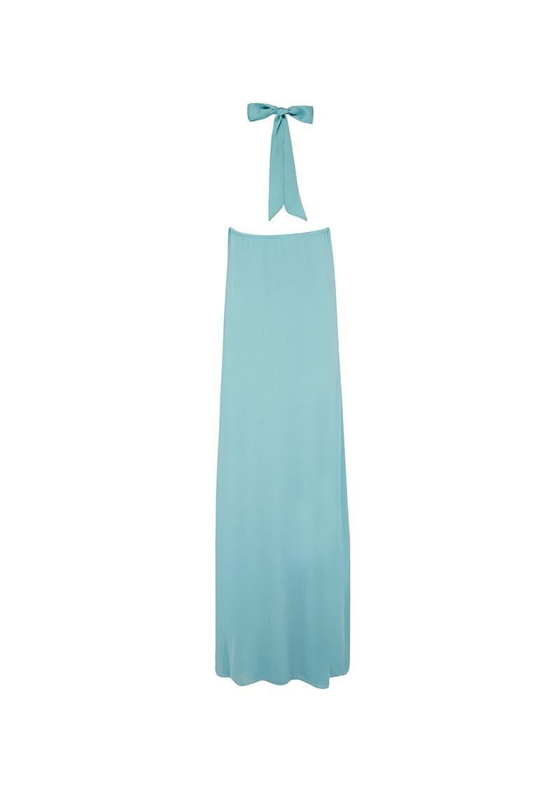 Blank ZIAH LONG DRESS - MINT BLUE main image