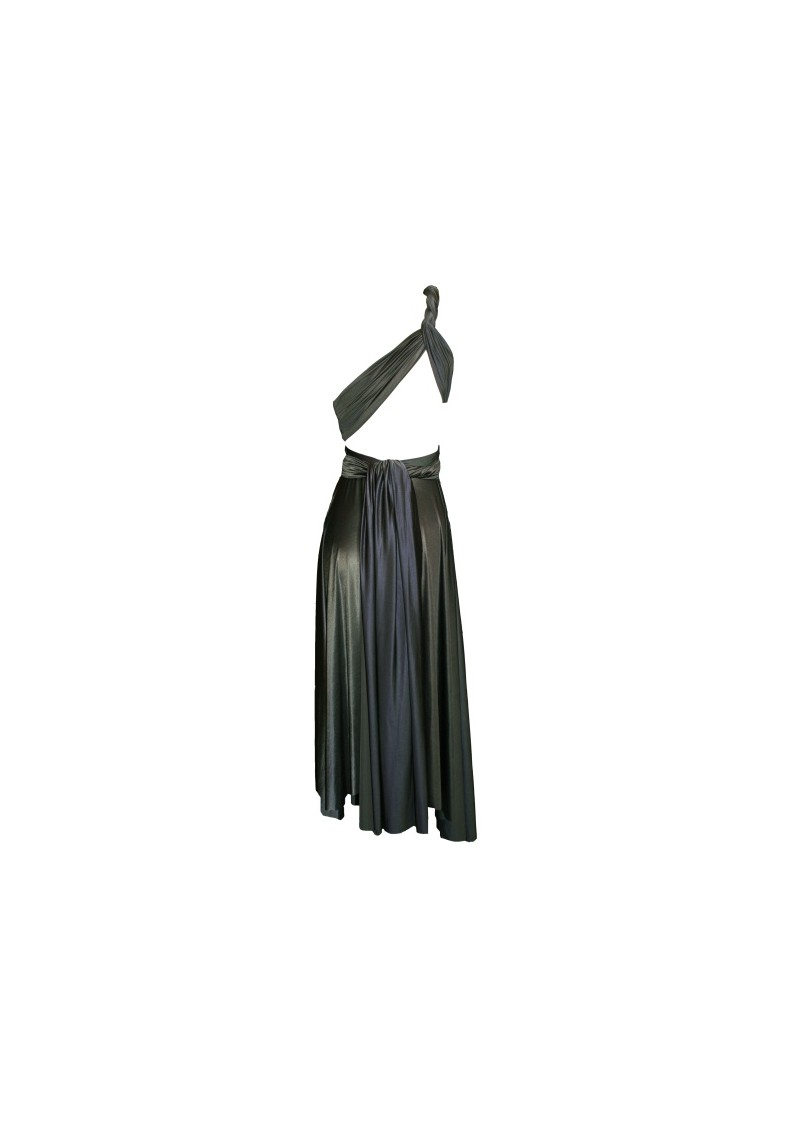 Signature Short Satin Dress - Lead main image