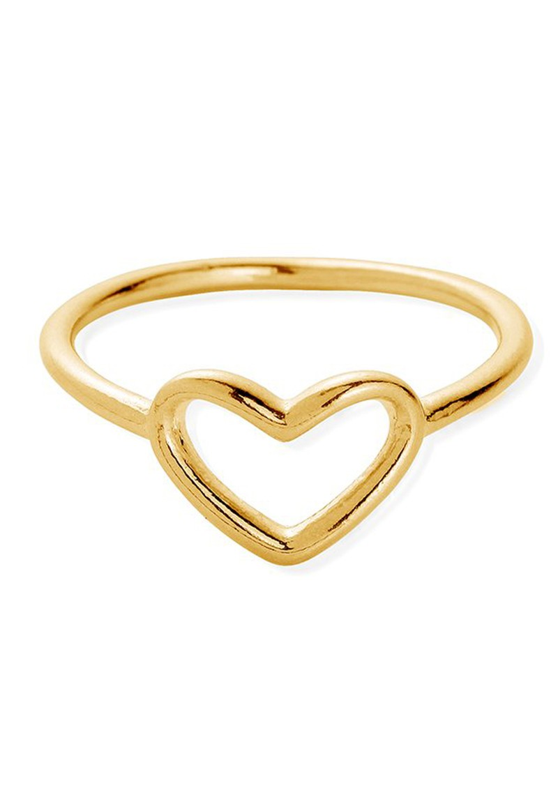 SUN DANCE CHERISH HEART RING - GOLD main image