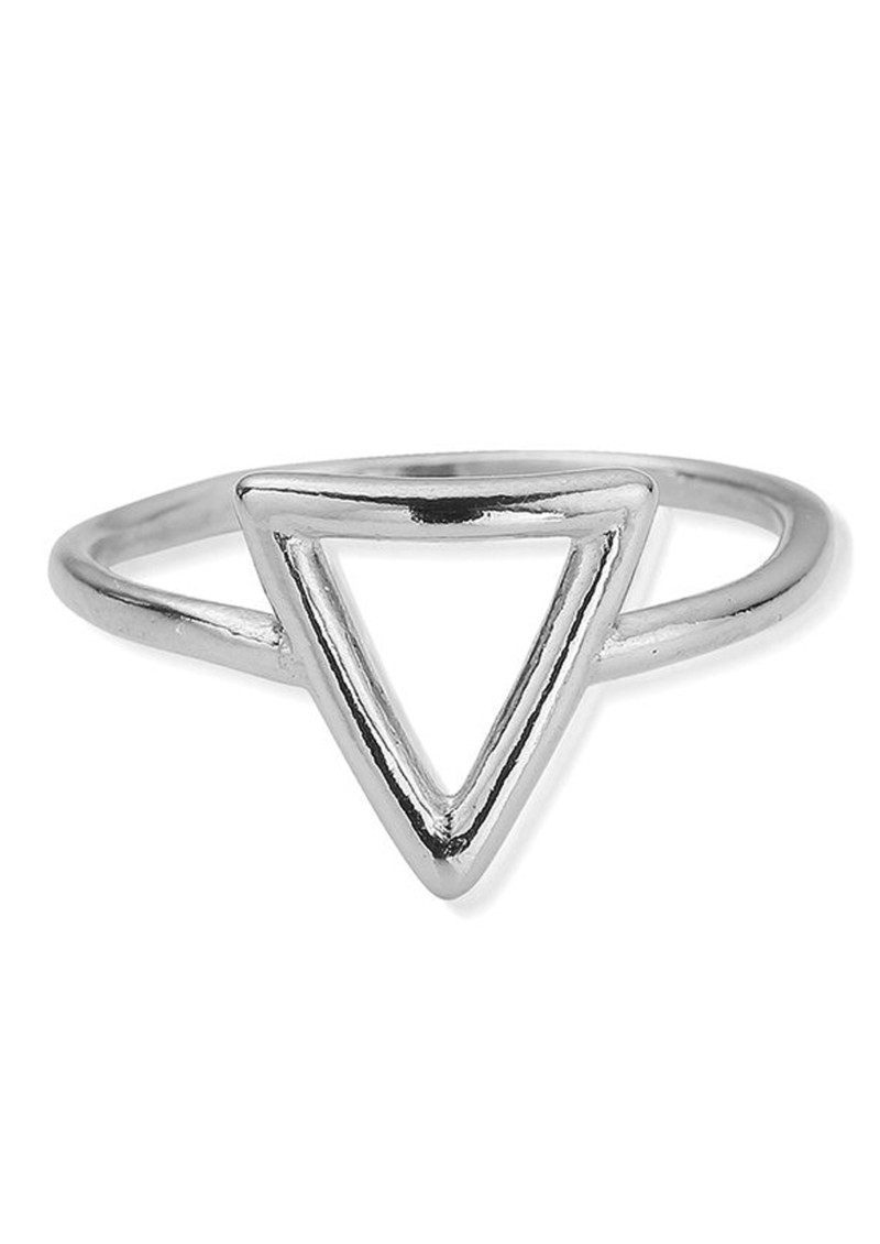 ChloBo Sun Dance Cherish Triangle Ring - Silver main image