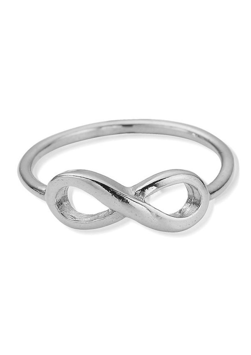 ChloBo Sun Dance Cherish Infinity Ring - Silver main image