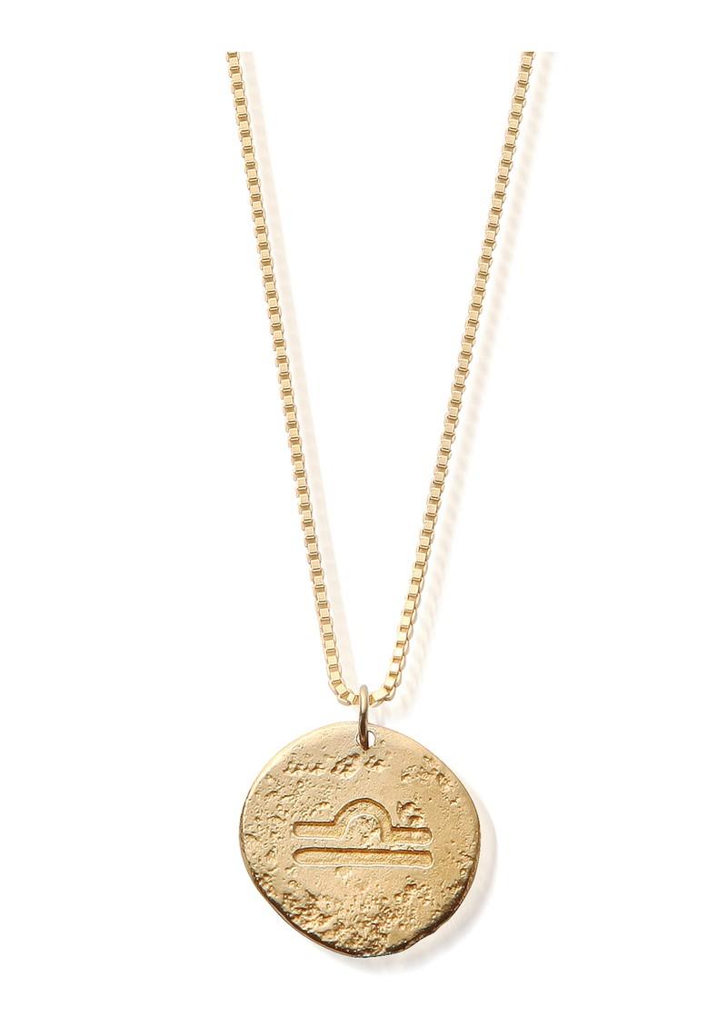 ChloBo Sun Dance Libra Zodiac Necklace - Gold main image