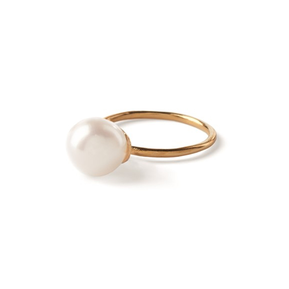 Fresh Water Pearl Ring - Gold