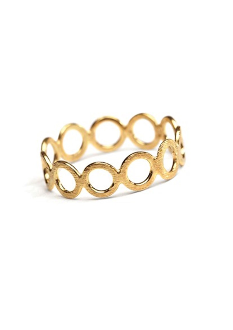 PERNILLE CORYDON Circle Ring - Gold main image