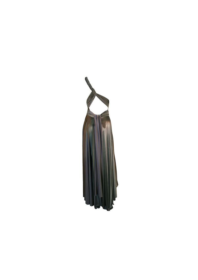 Long Satin Gown - Lead main image