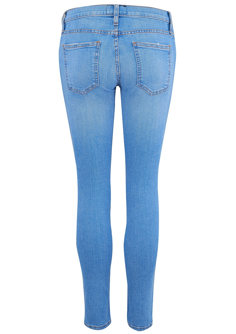 Current/Elliott The Stiletto Skinny Crop Jean - Chester Blue main image