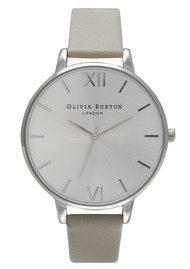 Olivia Burton Big Dial Watch - Grey & Silver