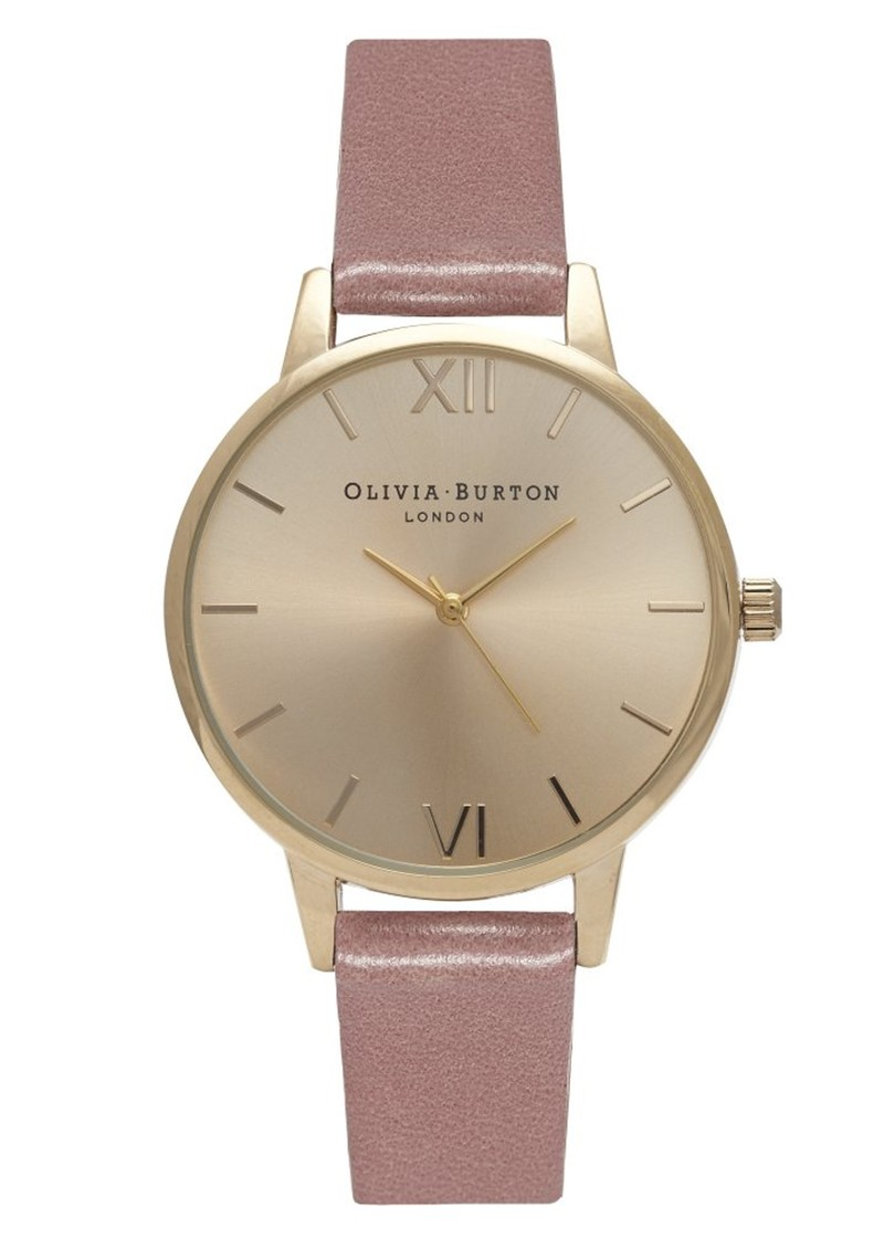 Olivia Burton Midi Dial Watch - Rose & Gold main image