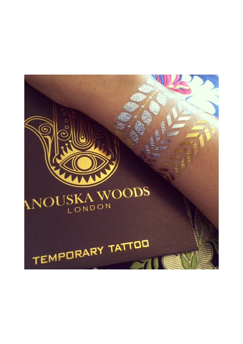 ANOUSKA WOODS Temporary Tattoos - Serenity main image