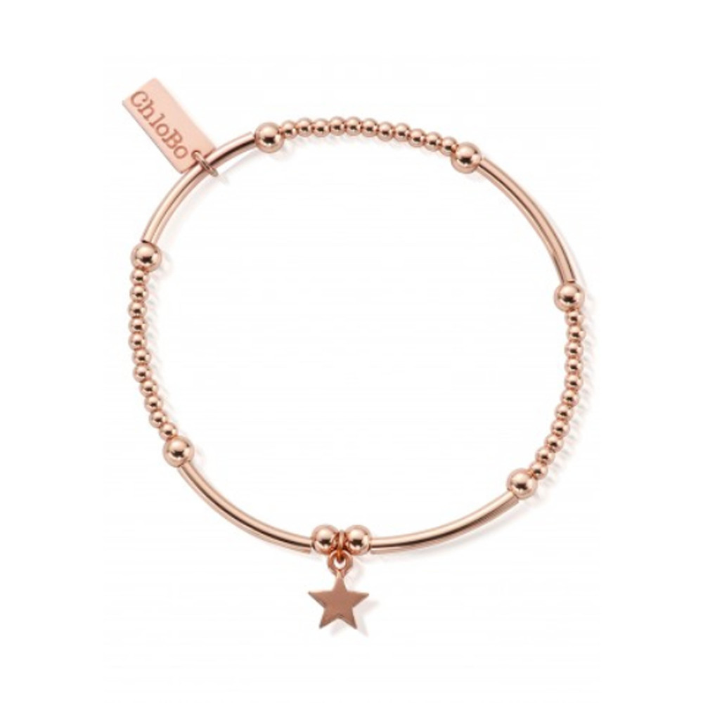 Cute Mini Star Bracelet - Rose Gold
