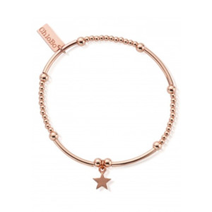Cute Mini Star Bracelet - Rose Gold