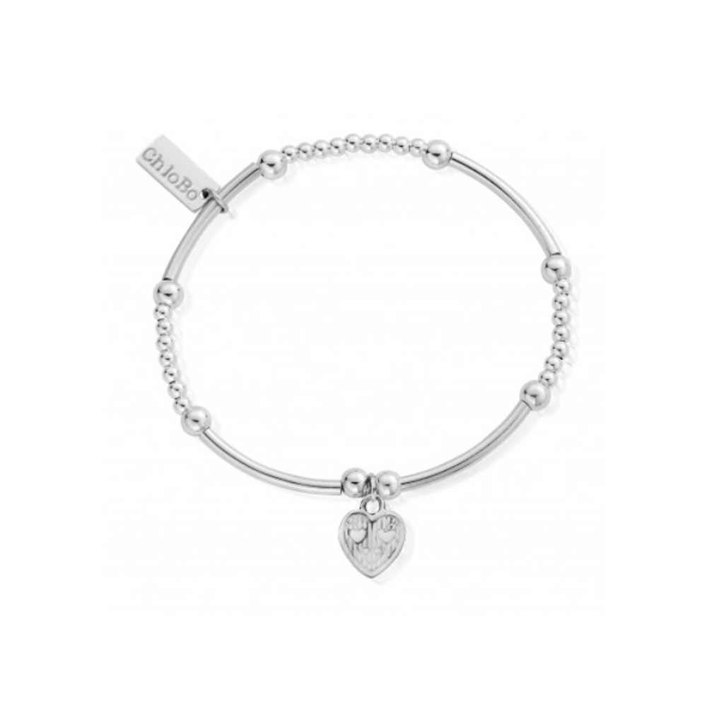 Cute Mini Tri - Heart Bracelet - Silver