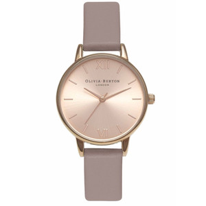 Midi Dial Watch - Rose & Rose Gold