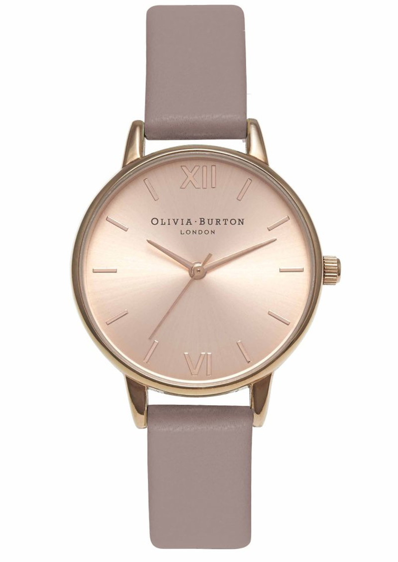 Olivia Burton Midi Dial Watch - Rose & Rose Gold main image