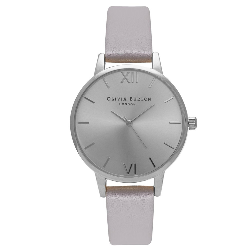 Midi Dial Watch - Grey, Lilac & Silver