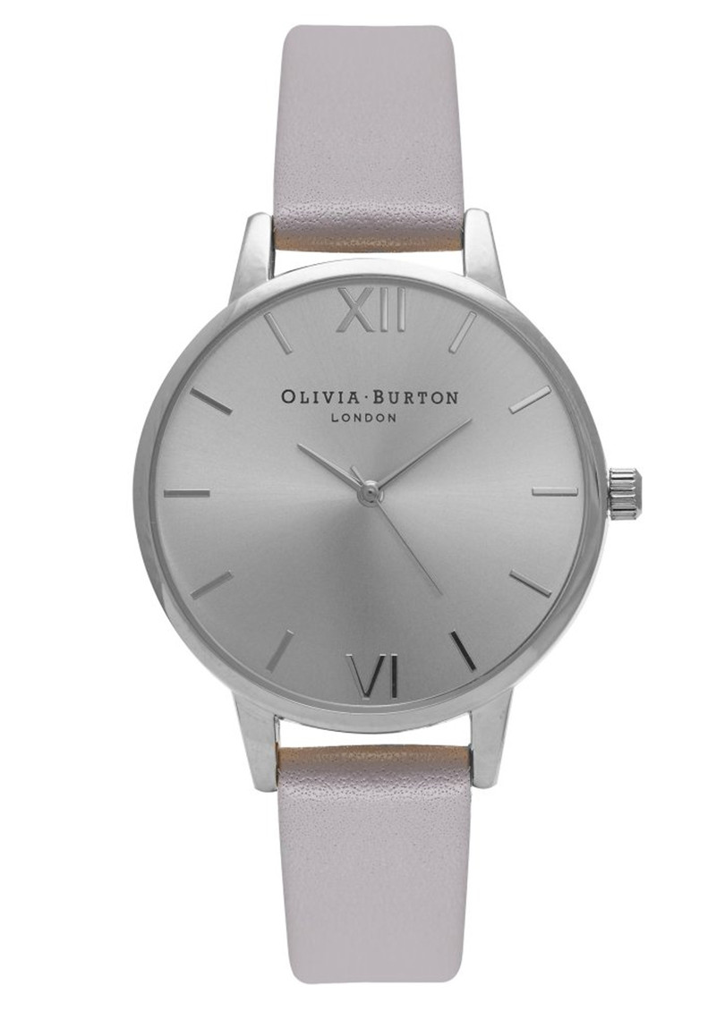 Midi Dial Watch - Grey, Lilac & Silver main image