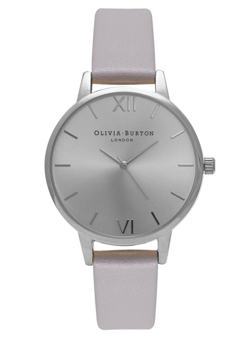 Olivia Burton Midi Dial Watch - Grey, Lilac & Silver main image