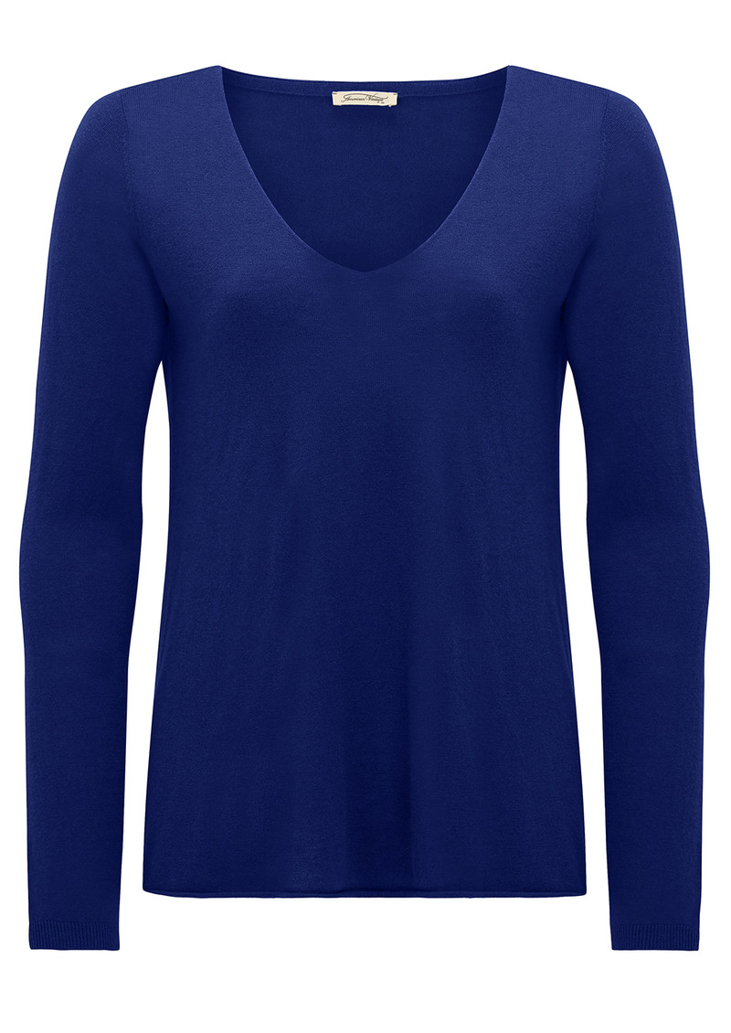 Blossom Long Sleeve Sweater - Indigo main image