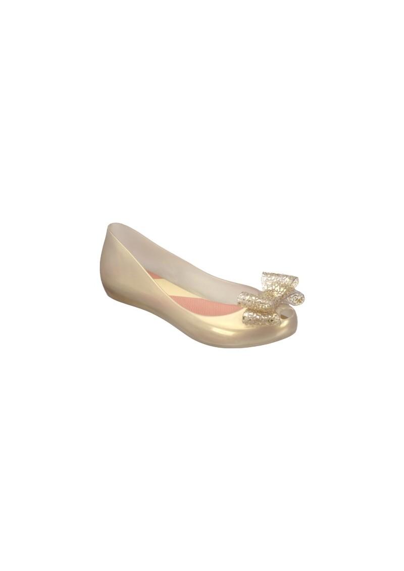Melissa Ultragirl Bow Shoes - Soft Gold main image