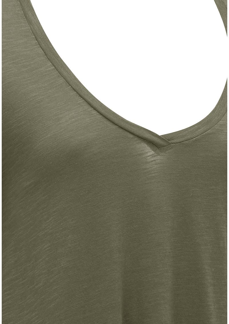 American vintage jacksonville long sleeve top vert de gris for Vert de gris