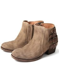H By Hudson Encke Suede Ankle Boot - Beige
