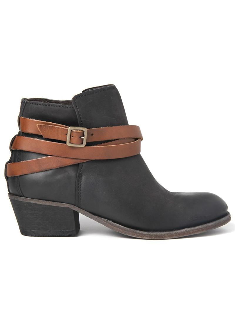 Hudson London Horrigan Ankle Boots - Black & Tan main image