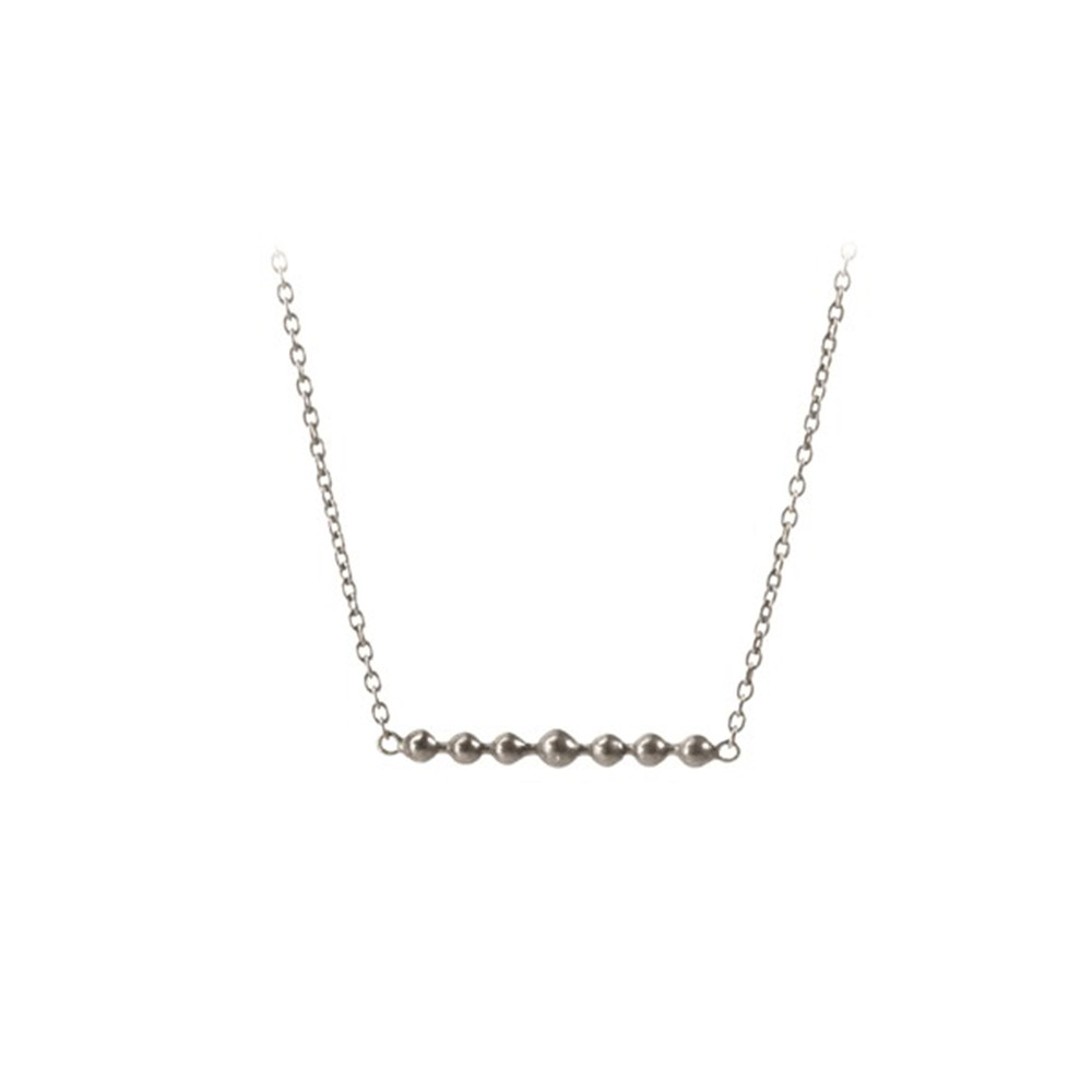 Pearl Necklace - Silver