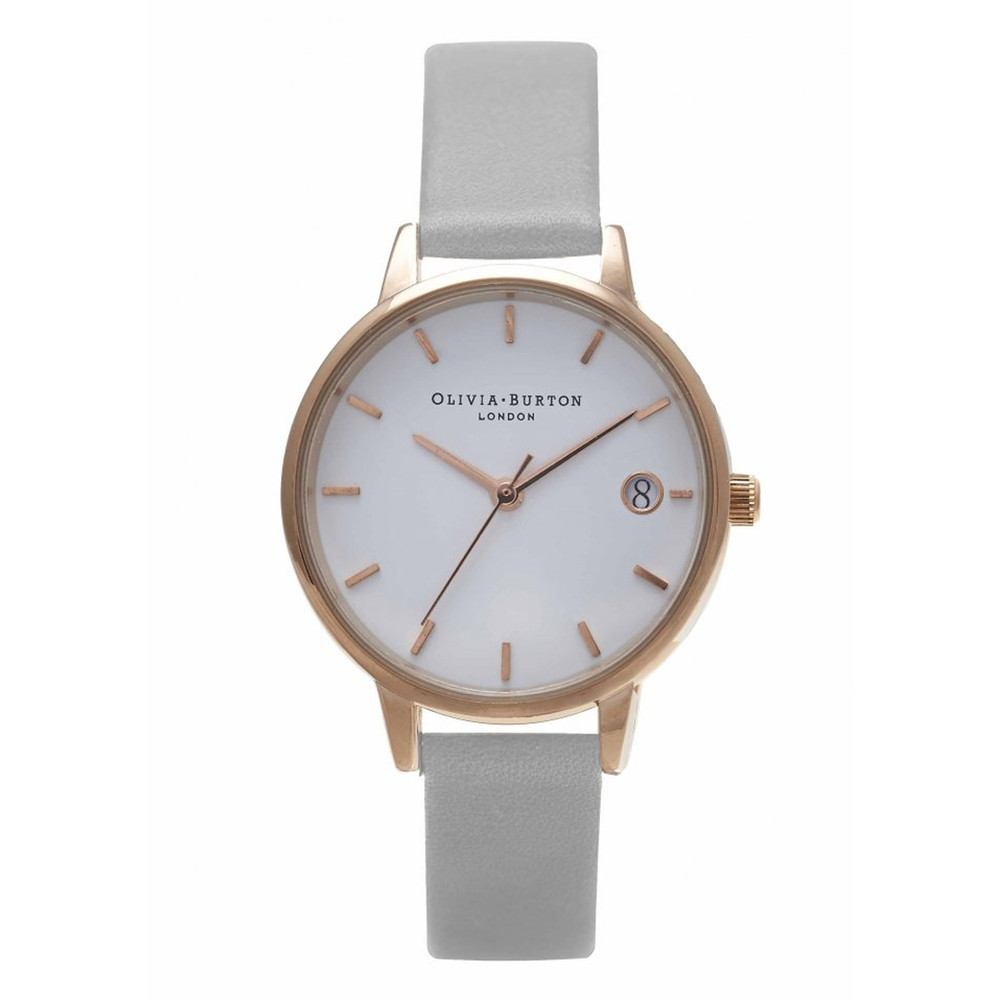 The Dandy Watch - Grey & Rose Gold