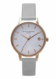 Olivia Burton The Dandy Watch - Grey & Rose Gold