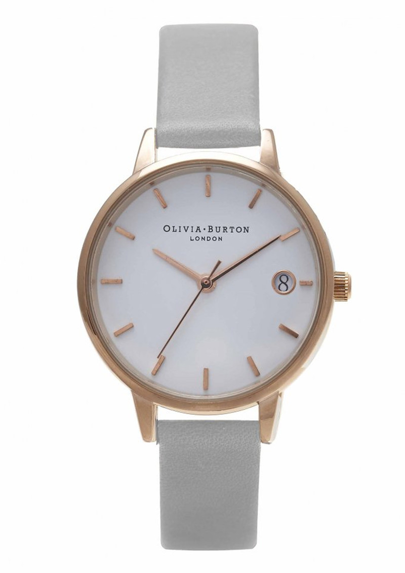 Olivia Burton The Dandy Watch - Grey & Rose Gold main image