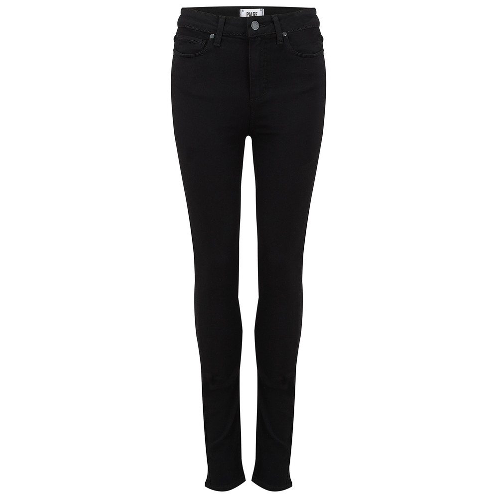 Margot High Rise Ultra Skinny Jeans - Black Shadow