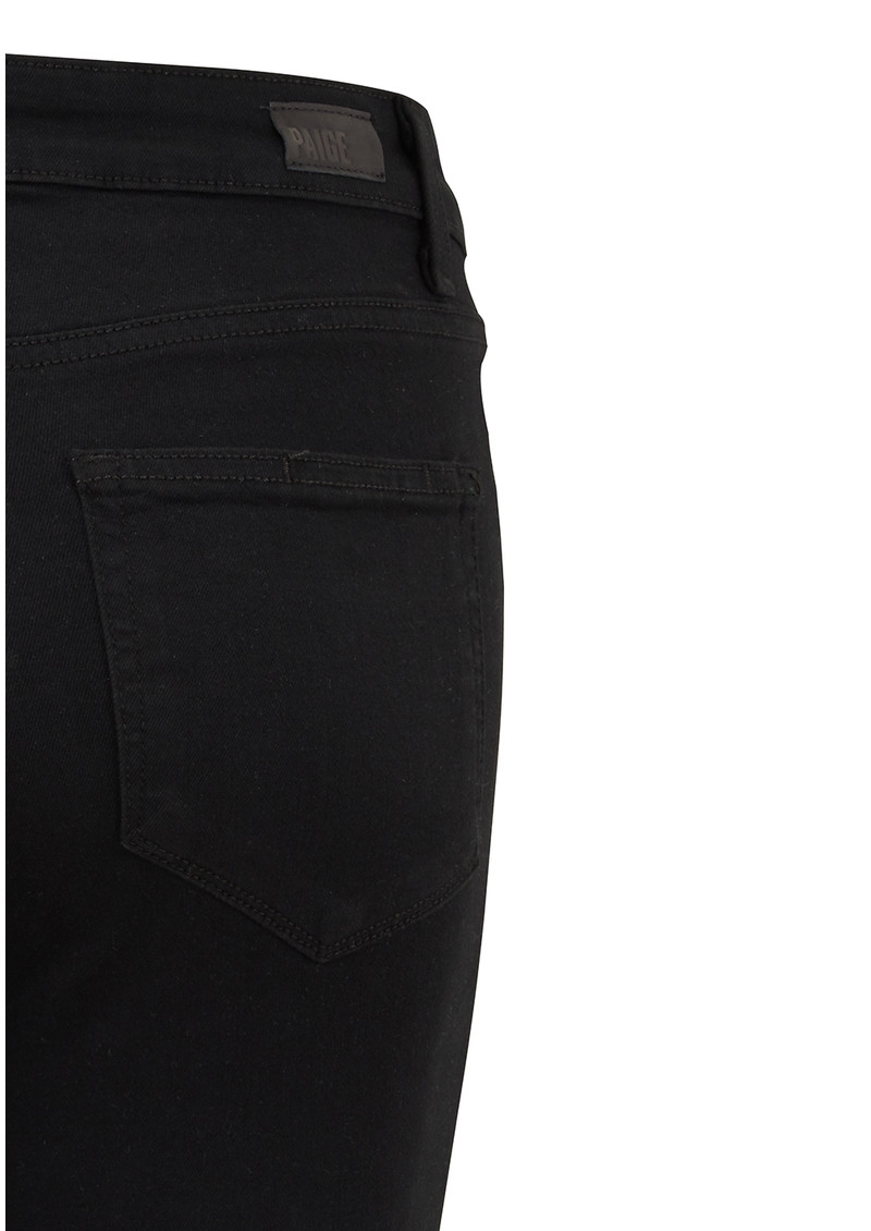 Paige Denim Margot High Rise Ultra Skinny Jeans - Black Shadow main image