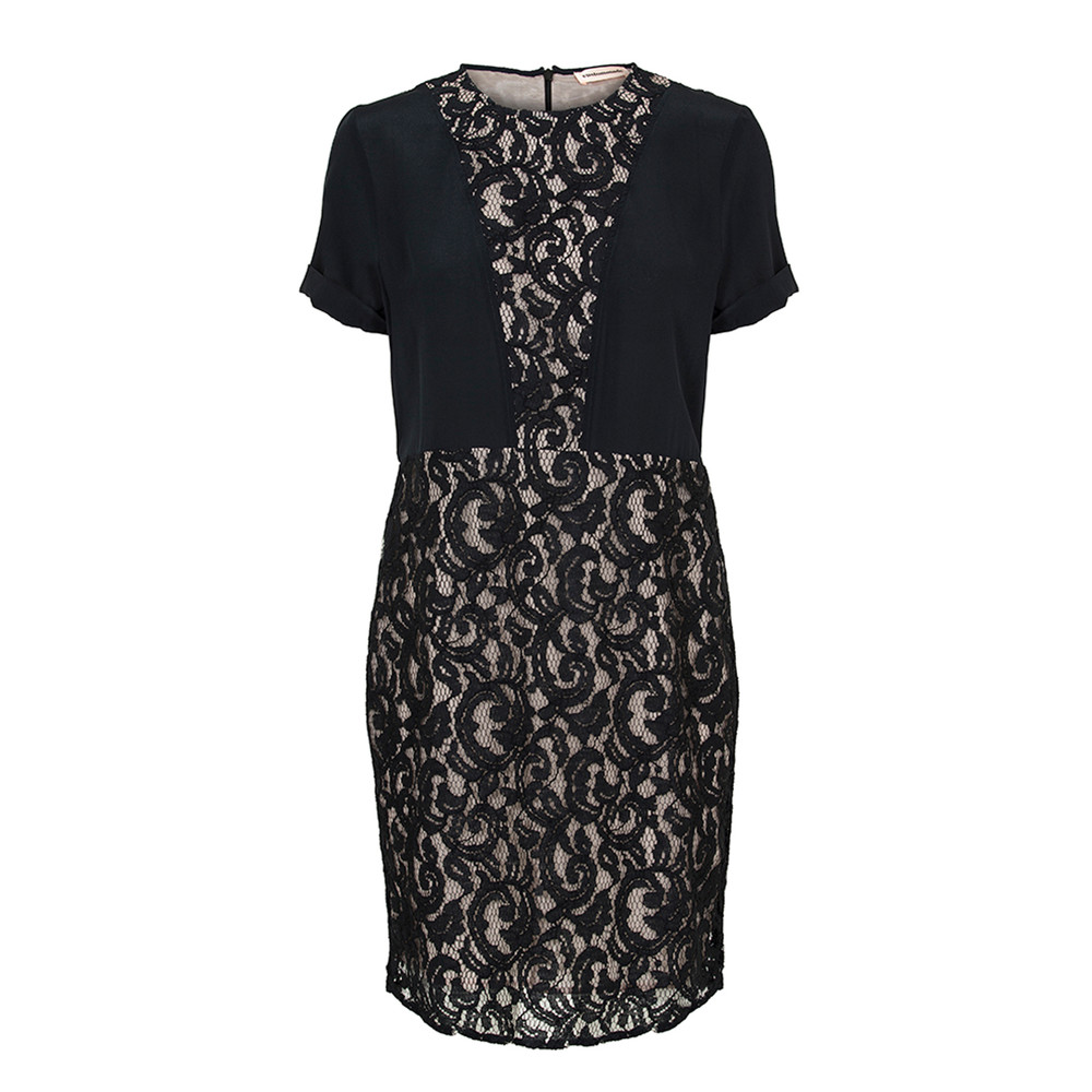 Catarina Silk Dress - Black