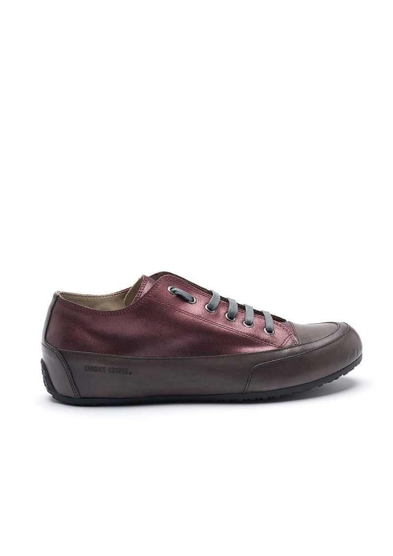 CANDICE COOPER Rock Camoscio Metal Trainer - Bordeaux main image