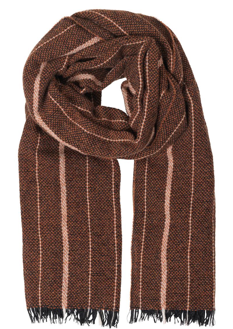 Becksondergaard T-Ross Wool Scarf - Burned Ochre main image