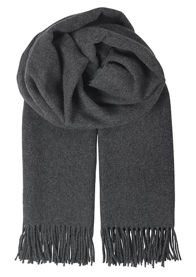 Becksondergaard T-Virgin Wool Scarf - Dark Grey Melange main image