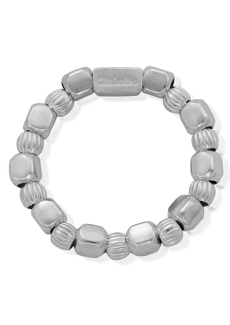 ChloBo Chunky Feature Ring - Silver main image