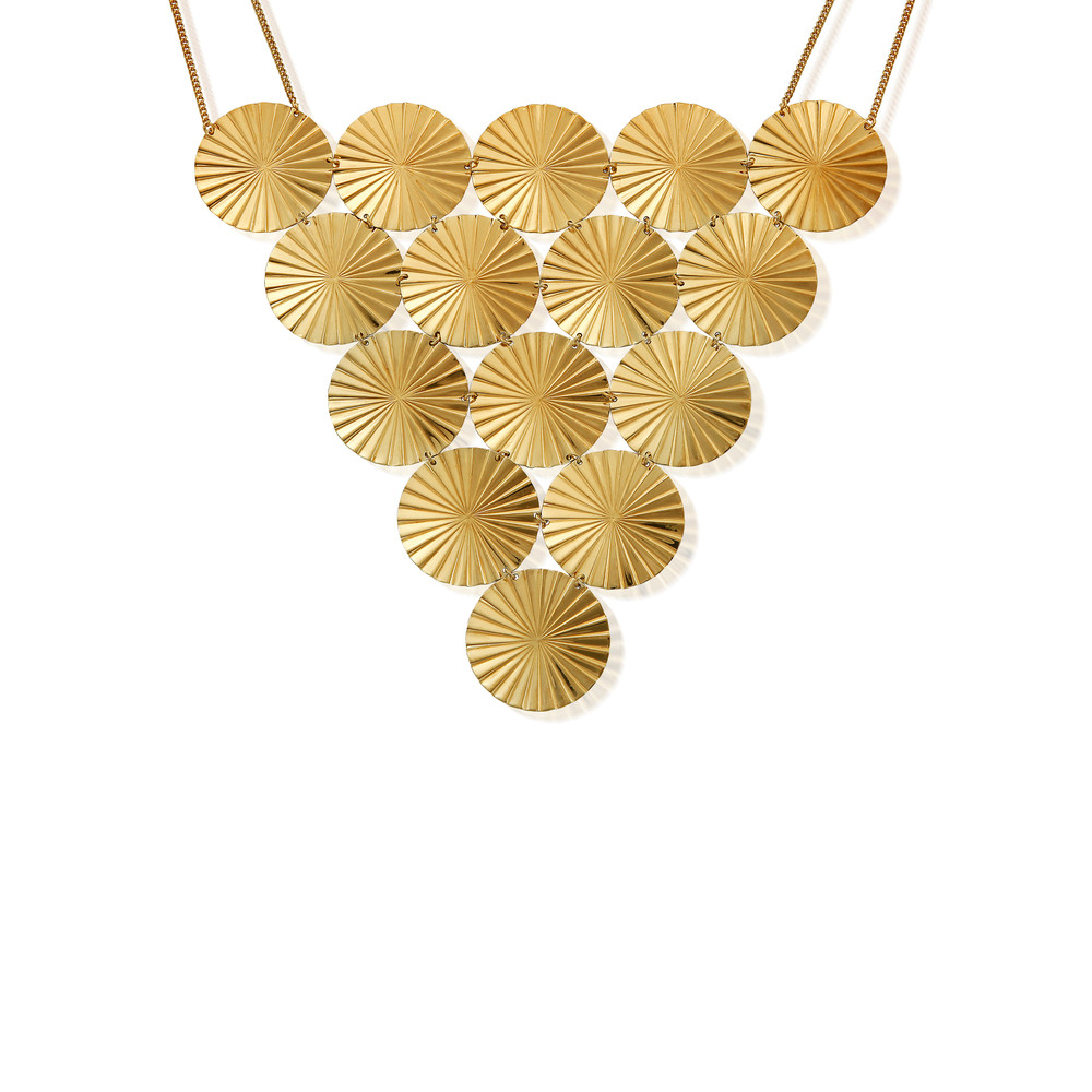 The Revolution Necklace - Gold