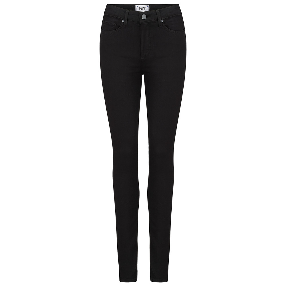 Hoxton Transcend Skinny Jeans - Black Shadow