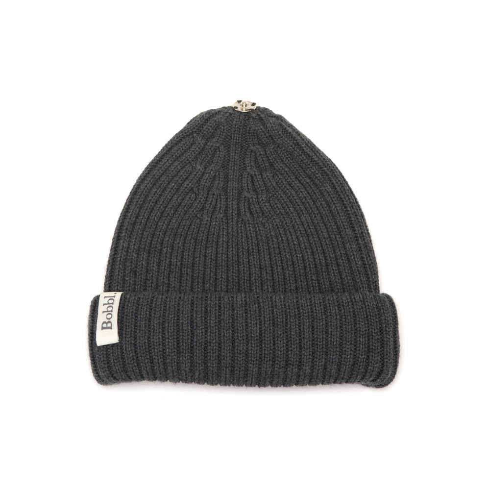 Bobbl Knitted Hat - Charcoal
