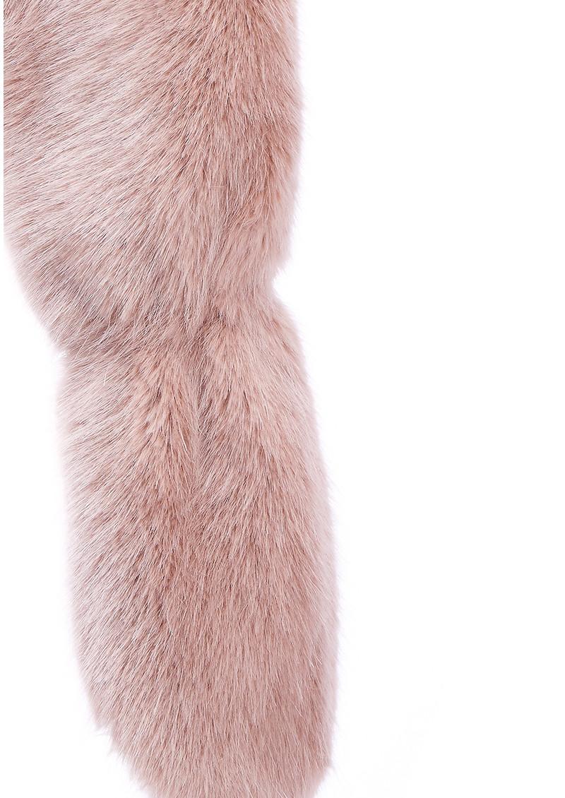 NOOKI Foxy Faux Fur Stole - Pink main image