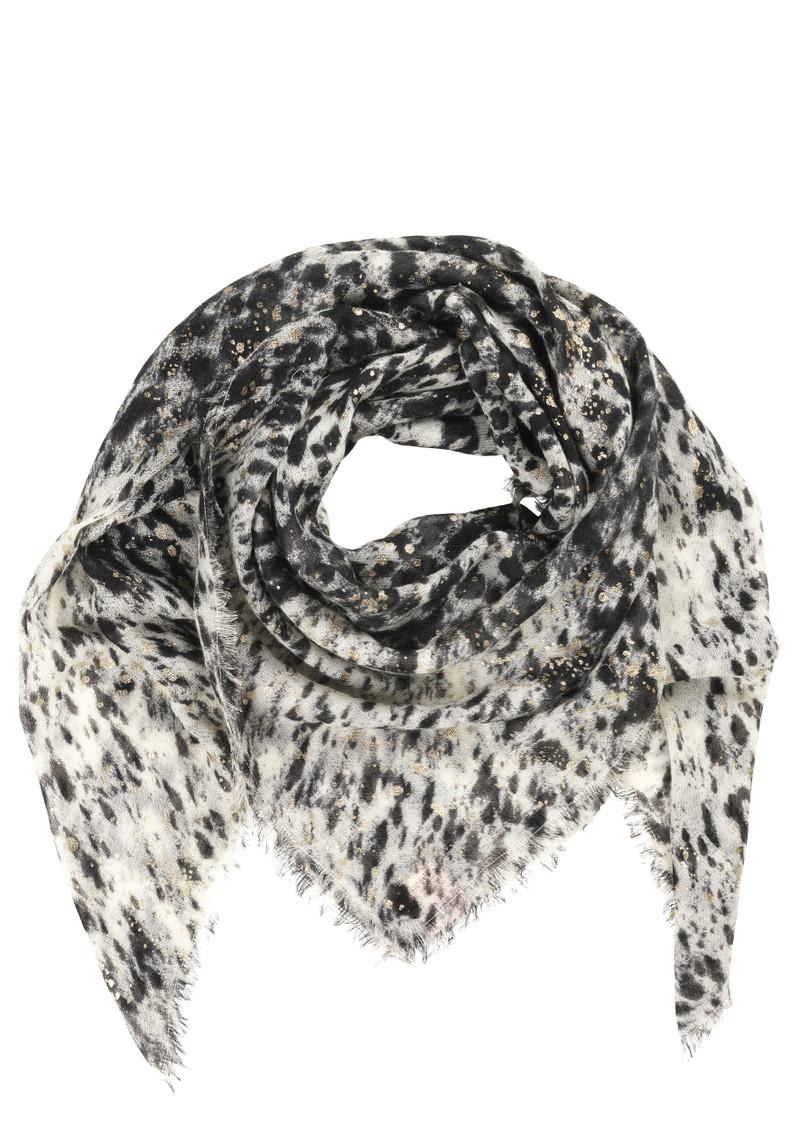 Becksondergaard V-Creamer Wool Scarf - Black  main image