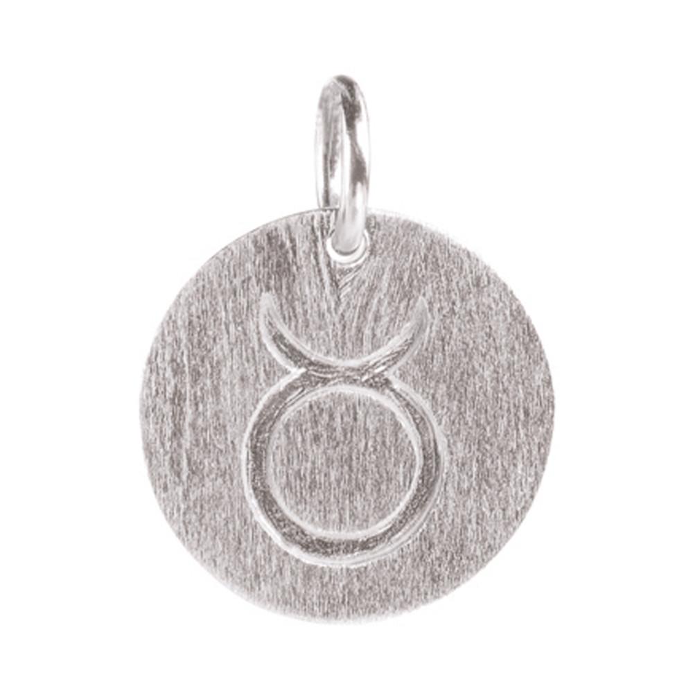 Zodiac Sign Silver Charm - Taurus